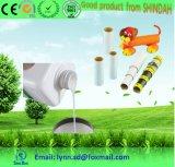 Pegamento adhesivo de trabajo de papel para hacer el tubo de papel