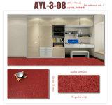 Étage en stratifié de PVC de regard de qualité de plancher de marbre de vinyle dans une Rolls