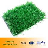 Grama artificial high-density (fio da forma da espinha) para o futebol, futebol, Futsal