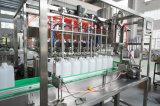 Embotelladora de relleno del aceite de mesa para la botella del animal doméstico