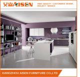 Кухонные шкафы кухни мембраны PVC цвета Elegent обернутые винилом