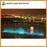 Fontana di acqua di Dancing di musica con il sistema di galleggiamento per il lago