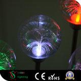 Weihnachtsverzierung-kleine Kugel-Lichter mit Stamm