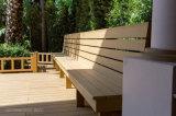 Revestimento ao ar livre padrão de Europa WPC/prancha de madeira ao ar livre