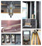 Ele 1324 de Snijdende Machine van de Steen, Hout die CNC van 4 As Router met Grote Roterend werken
