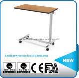安い価格MDFの鋼鉄折るベッドサイド・テーブル