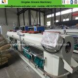 Cadena de producción plástica del tubo del PVC con la máquina de Belling del tubo de drenaje