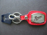 Custom Logo Leder Metaal Key Rings Key Holder (KC-001)