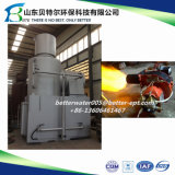 10-500kgs/Time inceneratore residuo medico, inceneratore dei rifiuti solidi, guida del video 3D