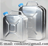 Bidon L'aluminium/Jerrican L'aluminium/Bidon本質/アルミニウムJerrican