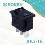 Mini interruptor de eje de balancín Kcd2 sin el interruptor de eje de balancín de las lámparas T120