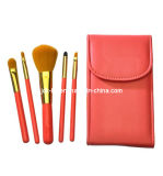 A venda a mais quente! ! 5PCS Makeup Brush Set com Trave Caso Mirror