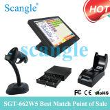 Sistema da posição do linux da máquina de dinheiro do equipamento do restaurante (SGT-662W5)