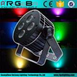 Binnen het Mini LEIDENE van het Stadium PARI 36 van de disco 4*8W RGBW 4in1 Licht van het PARI