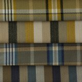 Tissu carré et ordinaire de sofa de modèle tissé par polyester
