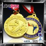 Projetar a medalha de luxe dourada