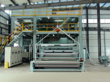 O Design o mais novo 24m SMMS PP Spunbond Nonwoven Fabric Making Machine