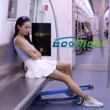 De Batterij van het Lithium van Samsung 24V die Escooter met Handvat vouwen