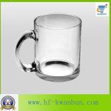 Tasse en verre potable chaude en gros de cuvette de bière de classe avec la verrerie Kb-Hn088 de qualité