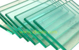 Feuille Tempered/stratifiée sur mesure en verre de rampes de construction d'escaliers