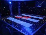 별 대양, LED 별빛 댄스 플로워 16*16FT LED 별 댄스 플로워를 교차하십시오