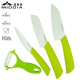 Kitchenware 3PCS Ceramic Knife Set с Peeler для Kitchen Gadget