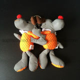 Jouet r3fléchissant rectifié orange de sûreté de cadeau de gosse d'orignaux de Noël