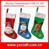 Jogo da tabela da meia do Natal da decoração do Natal (ZY14Y374-1-2-3)