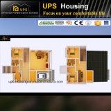 Villa bon marché résidentielle permanente diplôméee par ce de structure métallique de DIY