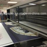 55g, 70g, 90g, 100GSM qualité, papier de roulis de sublimation de coût bas/papier de transfert visqueux de sublimation pour des vêtements de sport