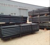 Фабрика продавая черный пикетчика звезды Bitum/стальной столб загородки для ограждать поля