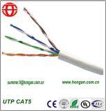 Câble fibre optique de la qualité UTP Cat5 dans le prix bas