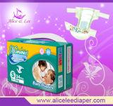 Couches-culottes de tissu de Velcro imprimées par bébé