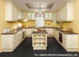 Rote Eichen-Küche-Schrank