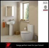 最も新しい現代既製MDFの浴室の虚栄心ミラーのキャビネット