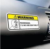 Customozed 안전 차 경고 레벨