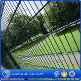 Belüftung-überzogener doppelter Maschendraht-Zaun für Garten Using