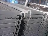 Tablones del andamio usados para el acero Walkboard de la construcción