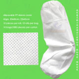 의학 Nonwoven/SMS/PP+PE/PP/Waterproof Polyethylene 또는 Poly/HDPE/LDPE/PVC/Plastic Disposable PE Sleeve Cover 의 Disposable PE Oversleeves 의 Disposable PE Sleevelets