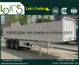 トレーラー40フィートの半3axle Flatbedwith Dropsideの