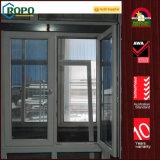 オーストラリアのPVCによって二重ガラスをはめられる隠されたヒンジの傾きおよび回転Windows