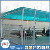 Im Freien Antiabsinken-Deckel-Dachspitze-Regen-Schutz PC Blatt