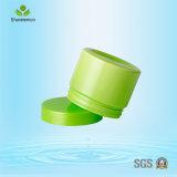水スリープパッキング150mlのためのふたが付いているCustomziedのプラスチッククリーム色の瓶