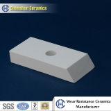 Mattonelle di ceramica dell'alta allumina trapezoidale resistente all'uso dell'abrasione