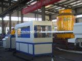 Tubo del PVC que hace la máquina