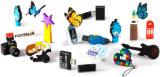 Mecanismo impulsor modificado para requisitos particulares cliente de la pluma de la memoria de disco del mecanismo impulsor del flash del USB del PVC