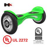 """""""trotinette"""" de equilíbrio de venda quente da placa do auto esperto da roda da polegada 2 de Hx Patend 10 com certificado do UL"""