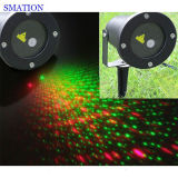Exposition de lumière laser de Noël de disco de projection de Noël d'usager de projecteur d'étoile