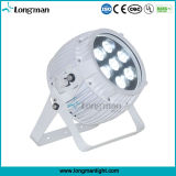 IP67 LED PAR puede 6en1 RGBWA + UV LED