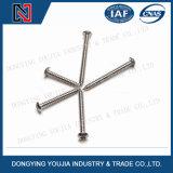 ISO14585 PanHoofd die van de Contactdoos van de Hexuitdraai van het roestvrij staal Lobular Schroeven onttrekken